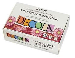 Набор для декорирования Кракелюр+декупаж Decola