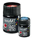 Алкидная краска по стеклу GlasArt, 15 мл, карминовый красный
